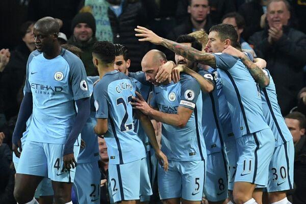 Футболисты Манчестер Сити