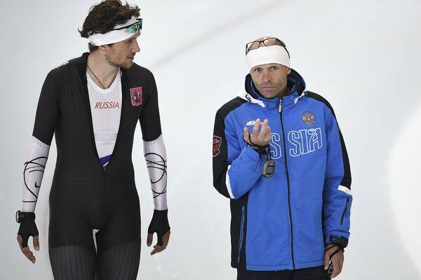 Денис Юсков и Константин Полтавец (слева направо)