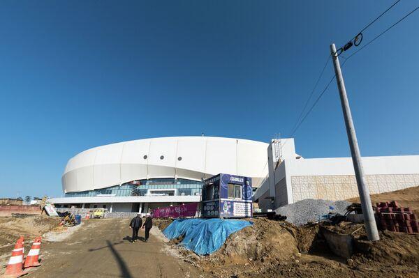Ледовая арена Ice Arena в Канныне