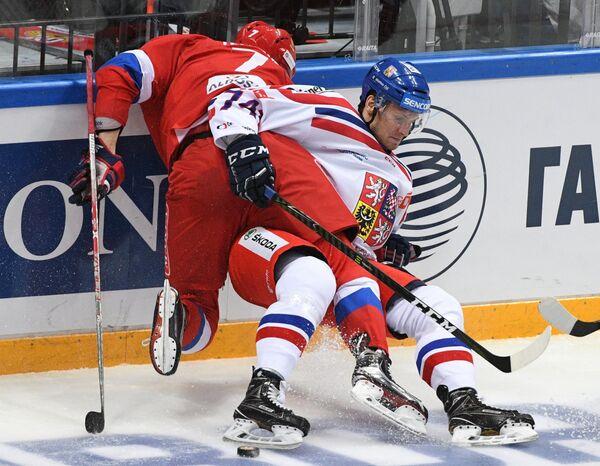 Иван Телегин (слева) и Ондржей Витасек
