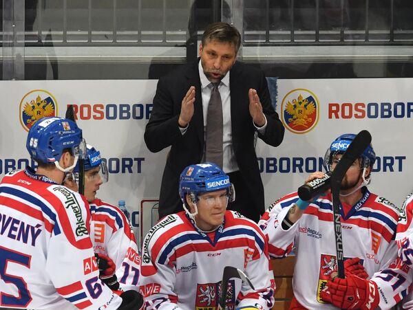 Главный тренер сборной Чехии Йозеф Яндач
