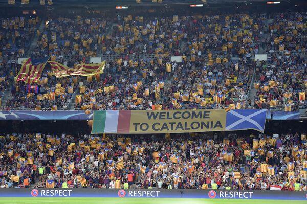 Болельщики испанской Барселоны