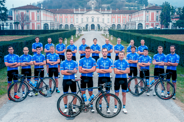 Презентация нового состава команды Газпром-Русвело на сезон-2017
