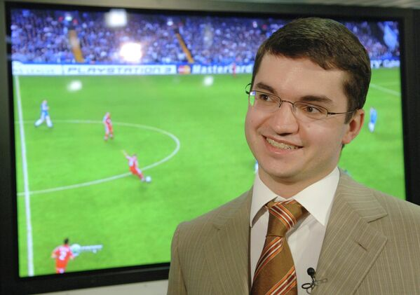 Генеральный директор НТВ-Плюс Дмитрий Самохин