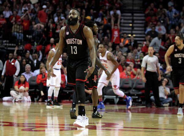 Защитник клуба НБА Хьюстон Рокетс Джеймс Харден