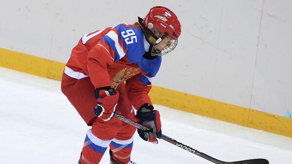 Хоккеистка сборной России Елена Дергачева