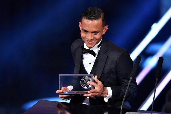 Малазийский футболист клуба Пенанг Мохда Фаиза Субри