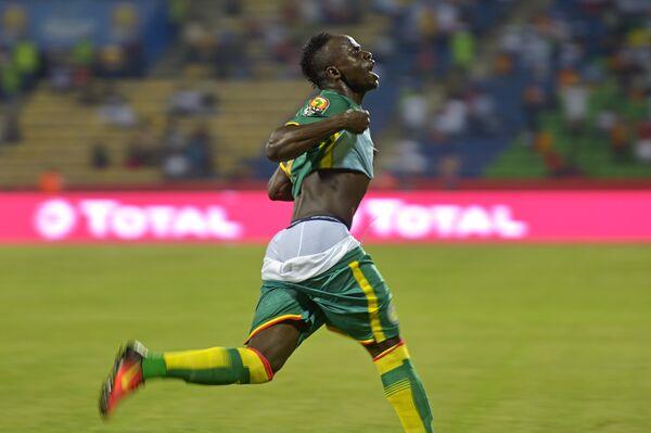 Нападающий английского Ливерпуля и сборной Сенегала по футболу Садьо Мане