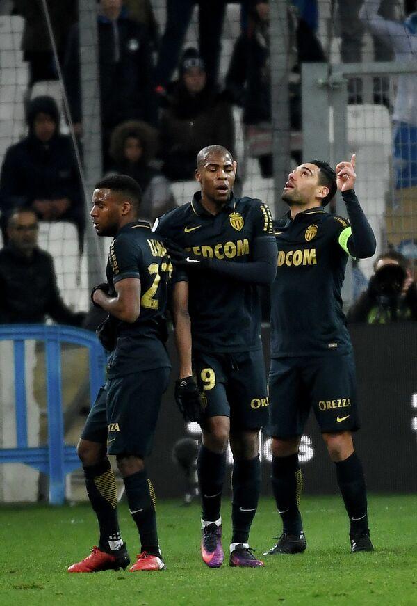 Футболисты французского Монако