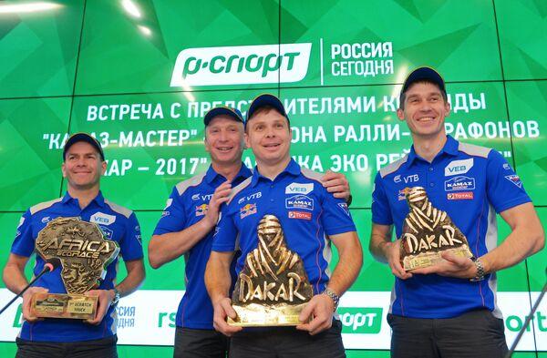 Андрей Каргинов, Владимир Чагин, Эдуард Николаев и Дмитрий Сотников (слева направо)