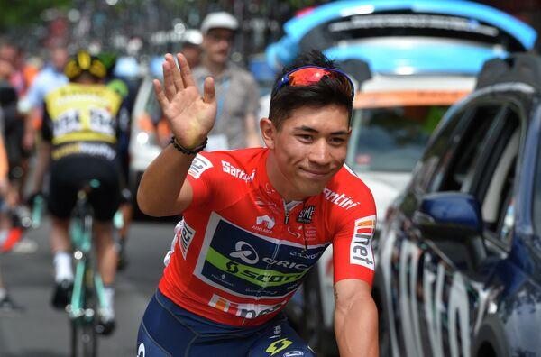 Австралийский велогонщик Калеб Эван из команды Orica-Scott