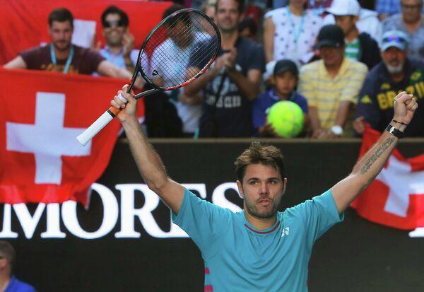 Швейцарcкий теннисист Станислас Вавринка