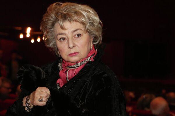 Тренер по фигурному катанию Татьяна Тарасова на премьере фильма Николая Лебедева Легенда №17