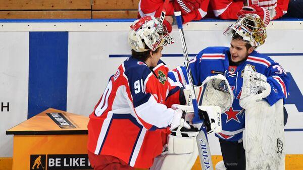 Илья Сорокин (слева) и Игорь Шестеркин