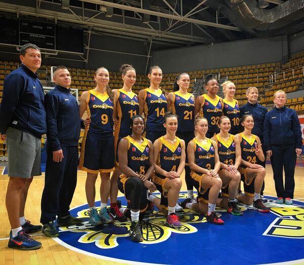 Баскетболистки Вологды-Чевакаты