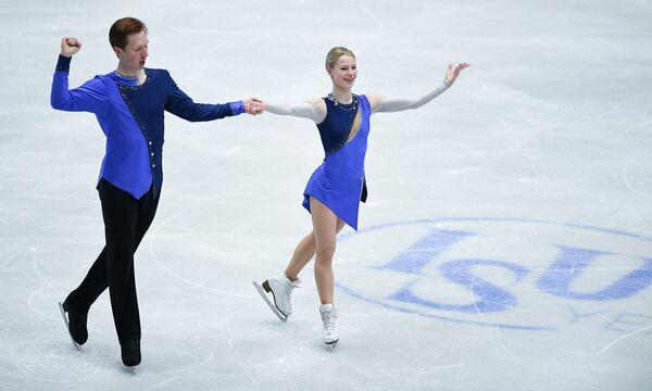Евгения Тарасова и Владимир Морозов (Россия)