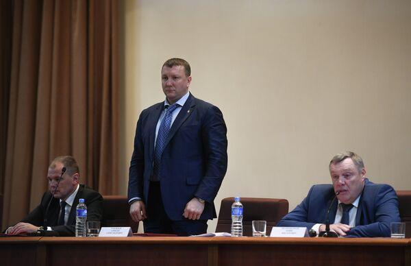 Андрей Данько, Алексей Рубежной, Борис Иванюженков (слева направо)