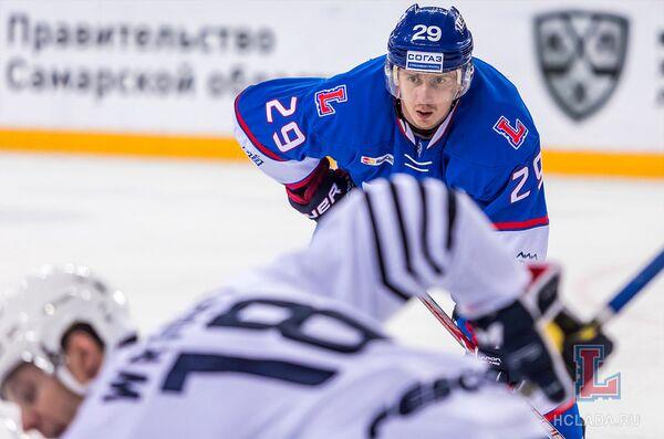 Хоккеист Александр Бумагин