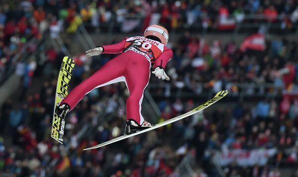 Австрийский летающий лыжник Штефан Крафт