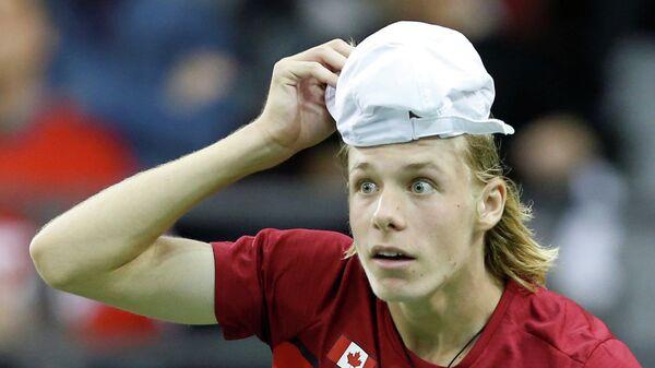 Канадский теннисист Денис Шаповалов