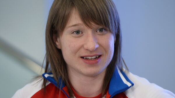 Российская тяжелоатлетка Анастасия Романова