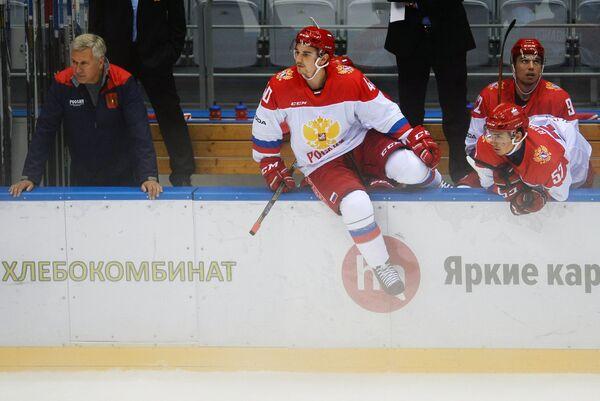 Игроки Олимпийской сборной России