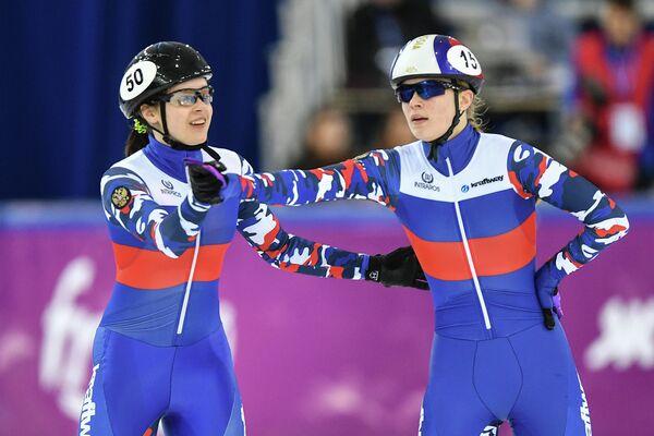 София Просвирнова (слева) и Евгения Захарова
