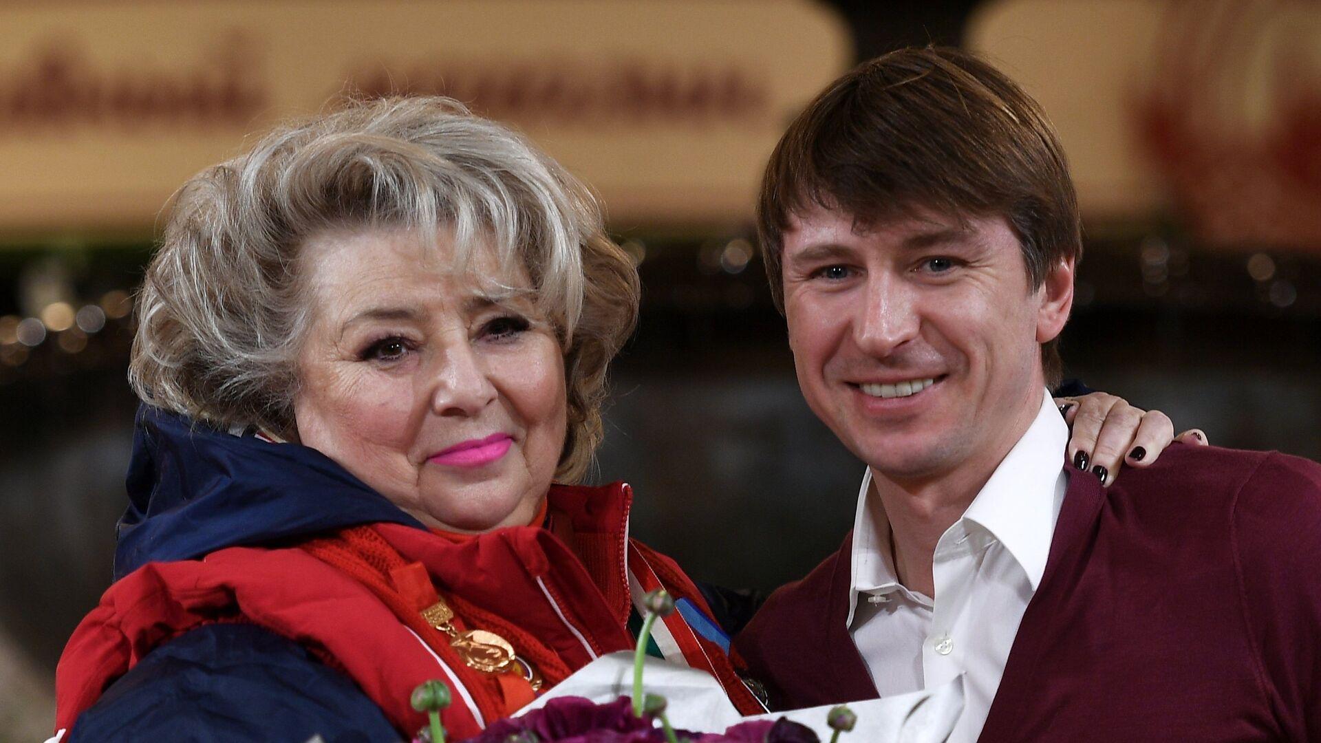 Татьяна Тарасова и Алексей Ягудин - РИА Новости, 1920, 19.02.2021
