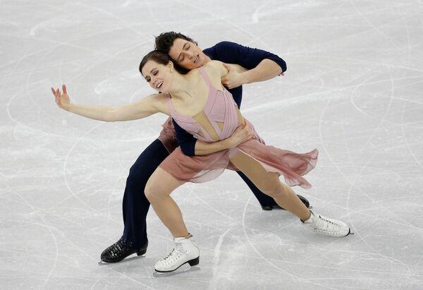 Тесса Вирчу и Скотт Мойр