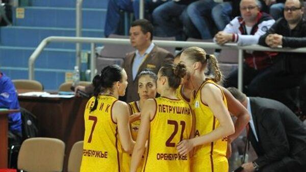 Баскетболистки оренбургской Надежды
