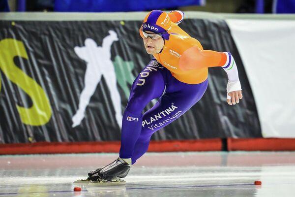 Голландский конькобежец Роналд Мюлдер