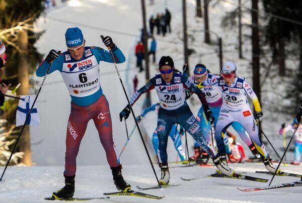 Юлия Чекалева, Челси Холмс, Айно-Кайса Сааринен и Эбба Андерссон (слева направо)