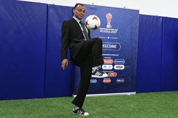 Бразильский футболист Кафу