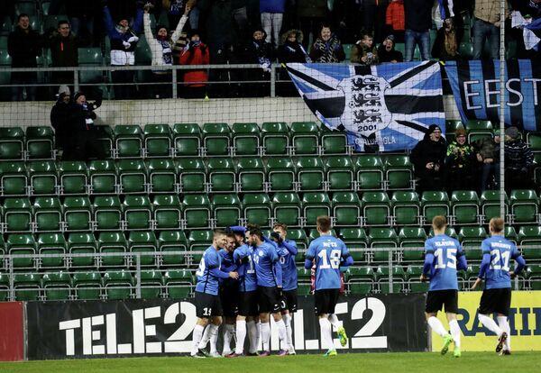 Футболисты сборной Эстонии