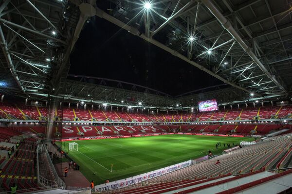 Футбольный стадион Открытие Арена в Москве