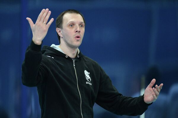 Старший тренер ВК Белогорье Александр Косарев
