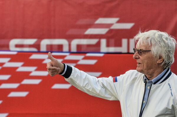 Почетный президент Формулы-1 Берни Экклстоун