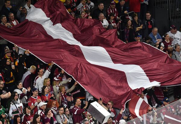 Болельщики сборной Латвии