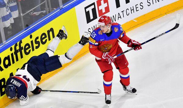 Защитник сборной России Богдан Киселевич