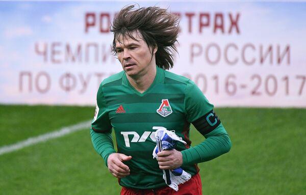 Полузащитник Локомотива Дмитрий Лоськов