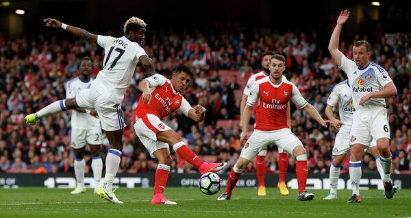 Игровой момент матча Арсенал - Сандерленд
