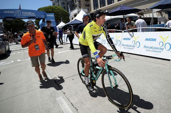 Новозеландский велогонщик Джордж Беннетт из команды Lotto NL-Jumbo