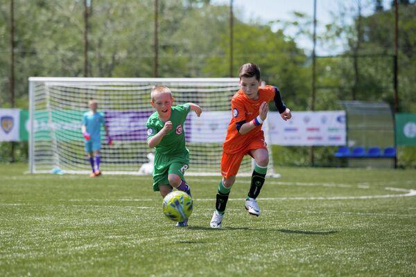 Всероссийские соревнования по футболу среди детских домов