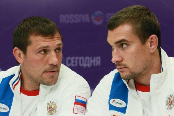 Андрей Сорокин (слева) и Владимир Остроушко