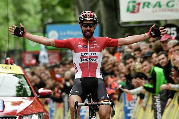 Бельгиец Томас Де Гендт из команды Lotto Soudal