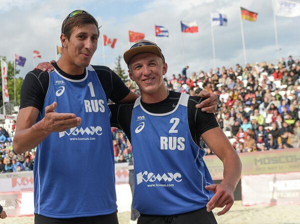 Россияне Олег Стояновский и Артём Ярзуткин (слева направо)