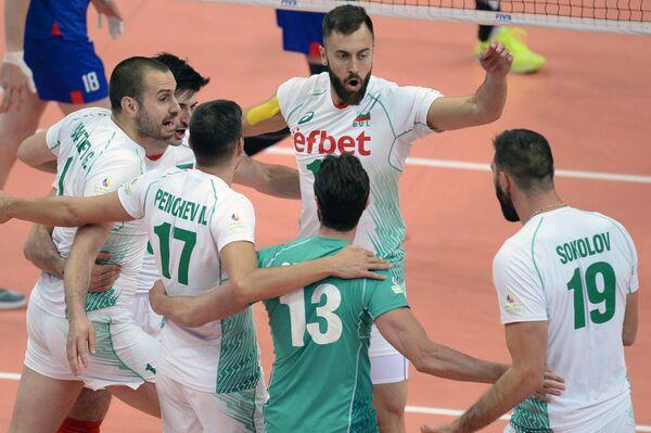 Волейболисты сборной Болгарии