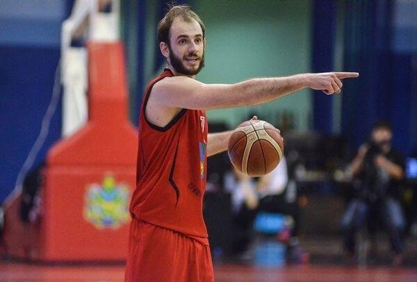 Баскетболист Федор Ключников