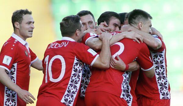 Футболисты сборной Молдавии