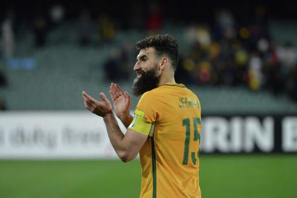 Капитан сборной Австралии Миле Единак